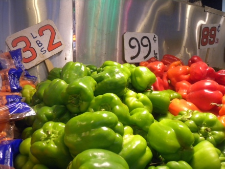 At your local grocery store, I bet your paying at least 99 cents per pepper.